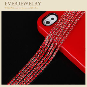 Newest Crystal Rhinestone Glass Crystal Cup Chain in Roll pictures & photos