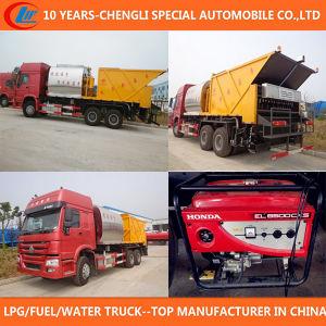 Asphalt Distribution Truck 6X4 Asphalt Synchronous Paving Truck pictures & photos
