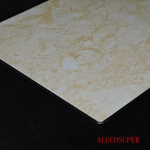 Stone Coating PVDF Aluminum Sandwich Panel pictures & photos