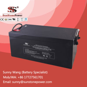 12V 240ah Sealed Maintenance Free UPS Backup Power Battery pictures & photos