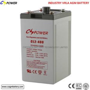 Solar Battery 2V 400ah Deep Cycle Lead Acid Battery pictures & photos