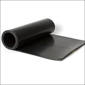 Vulcanized Butyl Black Rubber Sheet