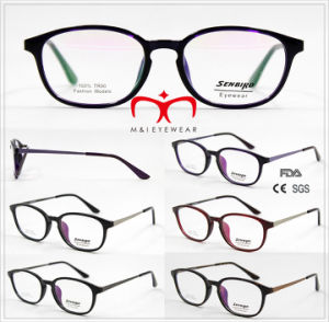 Tr90 Optical Frame with Metal Temple in Stock (1213) pictures & photos