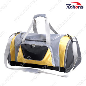 600d Polyester Large Men Sport Travel Luggage Bag pictures & photos