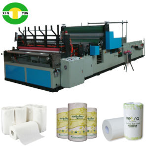 High Speed Kitchen Towel Roll Paper Processing Machine pictures & photos