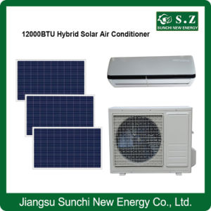 Acdc Type Hybrid High Efficiency Solar Power Air Conditioner System pictures & photos