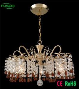 High Quality Deer Antler Remote Control Crystal Chandelier/Pendant Light pictures & photos