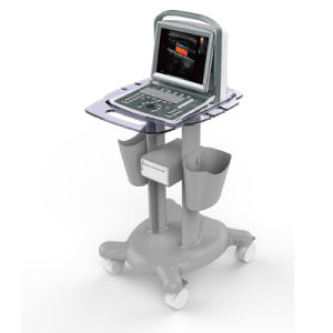 Med-Du-Eco5 Best Price with Very Clear Imaging 12 Inch LED Screen Portable Color Doppler Ultrasound Machine pictures & photos