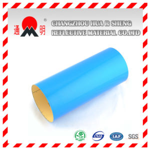 Advertisement Grade Pet Blue Reflective Material TM3300 pictures & photos