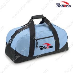 Custom Design Logo Fabric Sport Traveling Duffle Bag pictures & photos