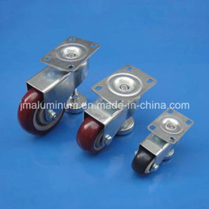 PVC Red Caster with Fixed Caster 3.0 Inch Size pictures & photos