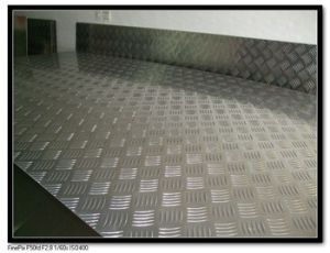 2.5mm Thickness Hot Working and Hot Rolled Chequered Pattern Steel Plate pictures & photos