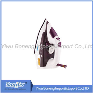 Electric Steam Iron Electric Iron Sf-9004 with Ceramic Soleplate (Blue) pictures & photos