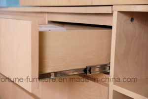 Modern Wooden Birch Veneered Chest of 3 Drawers (N1015-3) pictures & photos