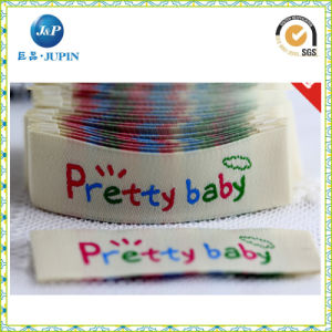 High Quality Free Design Garment Accessories Woven Label (JP-CL081) pictures & photos