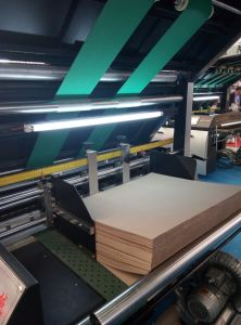 Corrugated Cardboard Automatic Flute Laminating Machine Price in China pictures & photos