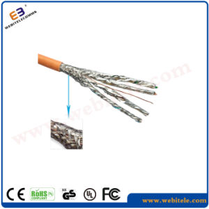 S/FTP Shielded Cat 7 Twisted Pair Installation Cable, 23AWG pictures & photos