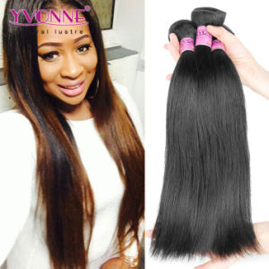 Natural Straight Virgin Remy Brazilian Human Hair pictures & photos