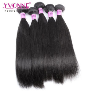 7A Remy Hair Brazilian Virgin Human Hair Extension pictures & photos