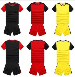 Sports T-Shirt Outdoor Training Uniform Soccer Jersey for Men (AKFS4) pictures & photos