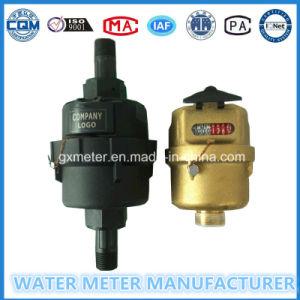 Brass/Plastic Kent Type Water Meter (Dn15-25mm) pictures & photos