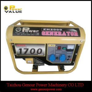 1.5kVA Recoil Start Good Quality Aluminium Wire Gasoline Generator pictures & photos