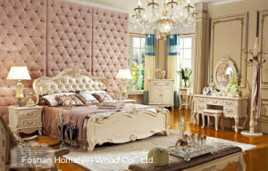 New Classical Royal Bedroom Furniture Design (HF-MG818) pictures & photos