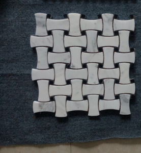 White Marble Mosaic for Bathroom Wall/Kitchen Wall pictures & photos