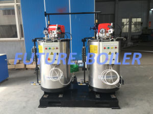 300kg/H Competitive Advantages Vertical Watertube Oil (Gas) Fired Steam Boiler pictures & photos