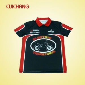 Men′s Custom Design Polo Shirt with Sublimation Printing pictures & photos