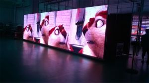 P6.25 Indoor/Outdoor LED Display video Wall for Rental pictures & photos