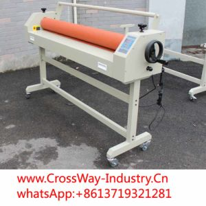 Manual Signs Indoor Photo Cold Laminator 1600 1.6m pictures & photos