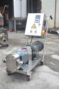 Stainless Steel Chemical Transfer Rotary Lobe Pump pictures & photos