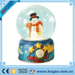 Holiday Collection Magnetic/Musical Water Globe Christmas-Dancing Snowman pictures & photos