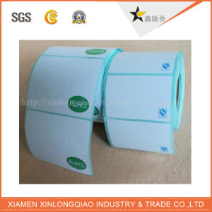 Label Printing Self Adhesive Customized Test Thermal Barcode Print Sticker pictures & photos