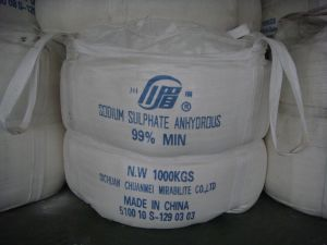 Industrial Grade Sodium Sulphate Anhydrous /Na2so4 99%Min pictures & photos