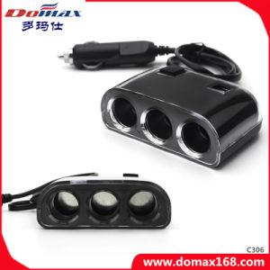 Multi Sockets Power Port Car Charger Cigarette Lighter pictures & photos