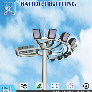 Auto Lift System 30m High Mast Light Pole pictures & photos