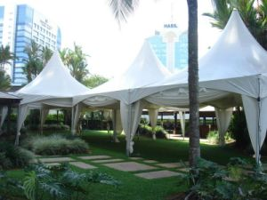 Deluxe Pop up Bad Weather Resistant Beach Pagoda Tents for Events pictures & photos
