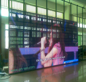 Portable Indoor Rental P10 Full Color LED Video Curtain (1/8 scan) pictures & photos