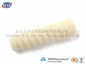 Railway Plastic Screw Dowel/Plastic Insert/Screw Sleeve/for Concrete Sleeper pictures & photos
