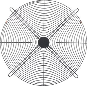 Flat Powder Coated Axial Fan Guard