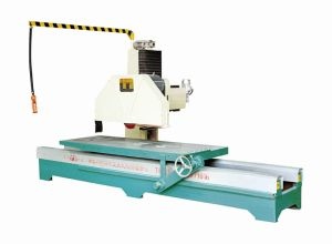 Marble Edge Cutting Saw with Single Arm (ZDQ-1200) pictures & photos