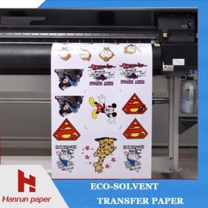 Printable Eco Solvent Transfer Paper for Cotton