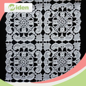 High Productivity Intalian Cotton Chemical Lace Fabric pictures & photos