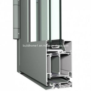 Custom Hinged System Double Glazing Aluminium Door pictures & photos