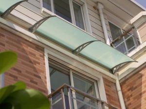 Polycarbonate Decoration Material/Awnings/Canopy /Sunshade/ Canvas for Windows& Doors (D2000A-L) pictures & photos