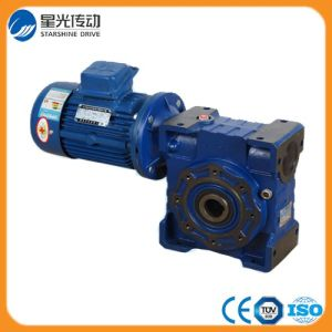 Nmrv050 Worm Gear Motor Reducer with Output Flange pictures & photos