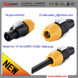 Lighting Connectors/LED Connector/Plastic 3pin Connector for LED Module pictures & photos