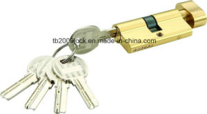 High Quality Brass/Zinc Computer Key Lock Cylinder (C3360-121BP -271BP) pictures & photos